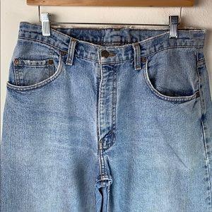 Levi's Jeans - Levi's 560 loose fit taper leg cotton jeans 34x29